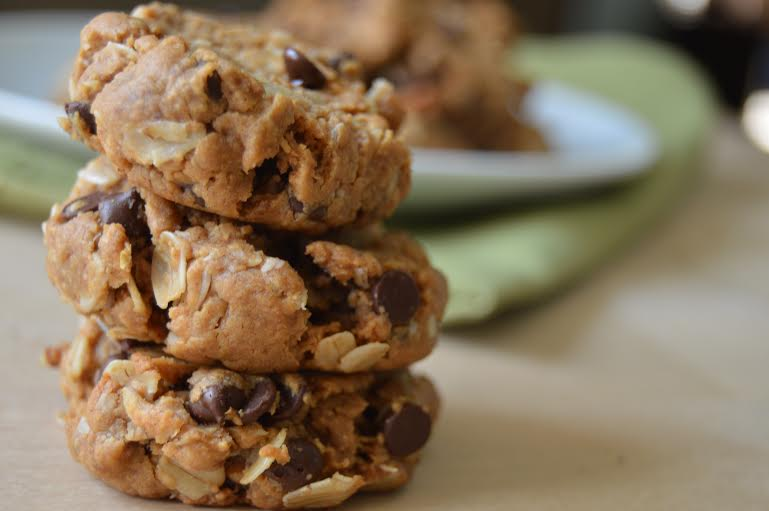 Flourless Peanut Butter Oatmeal Cookies! More Than Kale